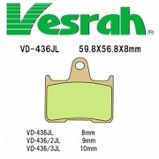[Vesrah]베스라 VD436JL/SJL - HONDA STEED400,X-4,CB1300F,KAWASAKI ZZR1400,GTR1400 기타 그 외 기종 -오토바이 브레이크 패드