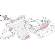 SV125.SV125B.SV125D.SV250 윙카렌즈(뒤,투명)