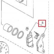 HL100A(아띠) 패드 (앞,순정),GV250DR(뒤)