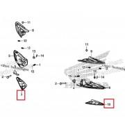 PCX(18~19) 발판커버(뒤) RH 50732-K97-T00ZA,LH 50742-K97-T00ZA